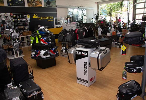 Tienda accesorios moto Alicante