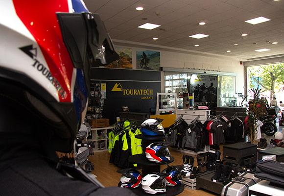 Tienda equipacion moto Alicante