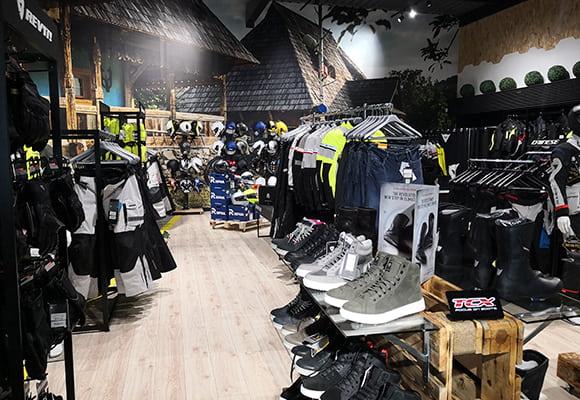 Tienda equipacion moto Madrid