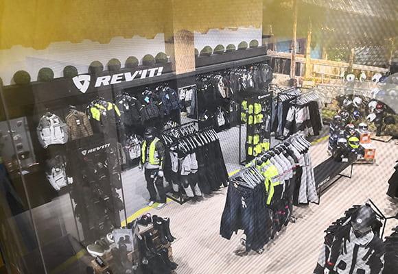 Tienda ropa moto Madrid